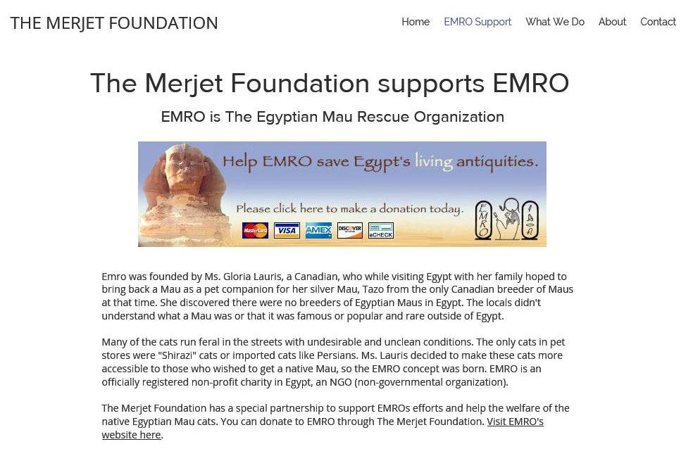 Merjet and EMRO logo